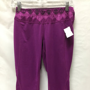 Primary Photo - BRAND: TEK GEAR STYLE: ATHLETIC CAPRIS COLOR: PURPLE SIZE: S SKU: 155-155130-205855