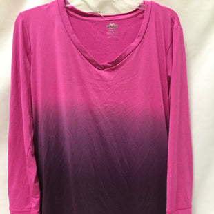 Primary Photo - BRAND: MAURICES STYLE: ATHLETIC TOP COLOR: HOT PINK SIZE: L SKU: 155-155130-212128