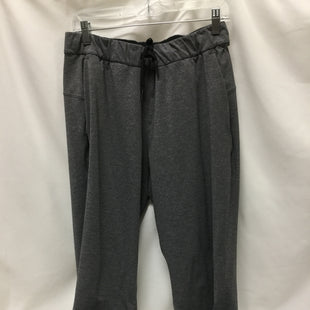 Primary Photo - BRAND: LULULEMON STYLE: ATHLETIC PANTS COLOR: GREY SIZE: M OTHER INFO: SIZE 10 SKU: 155-155224-15161
