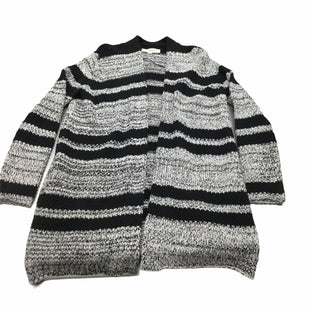 Primary Photo - BRAND: LOFT STYLE: SWEATER CARDIGAN HEAVYWEIGHT COLOR: WHITE BLACK SIZE: S SKU: 155-155215-4484
