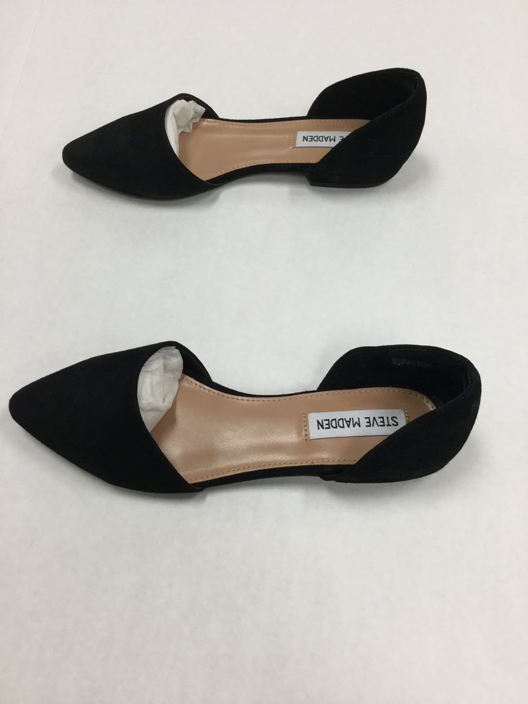 Photo #3 - BRAND: STEVE MADDEN <BR>STYLE: SHOES FLATS <BR>COLOR: BLACK <BR>SIZE: 7.5 <BR>SKU: 155-155220-3634