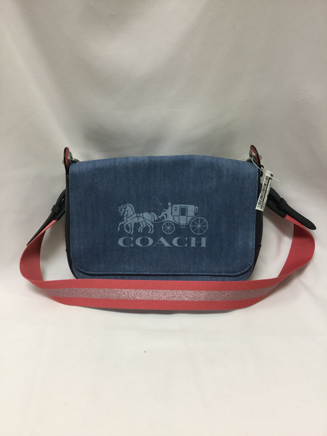 Primary Photo - BRAND: COACH <BR>STYLE: HANDBAG DESIGNER <BR>COLOR: DENIM <BR>SIZE: MEDIUM <BR>SKU: 155-155201-17510