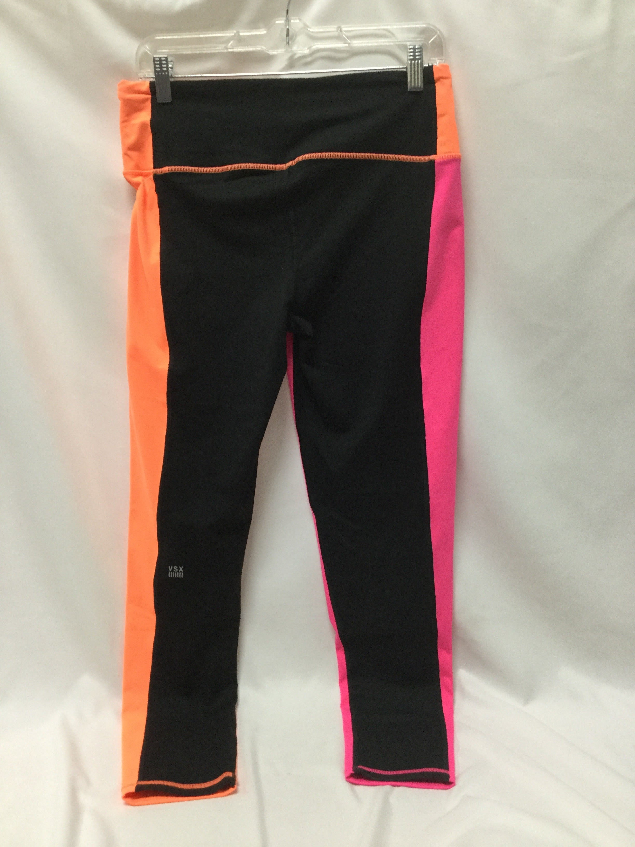 Photo #1 - BRAND: VICTORIAS SECRET <BR>STYLE: ATHLETIC PANTS <BR>COLOR: NEON <BR>SIZE: L <BR>SKU: 155-155185-8384
