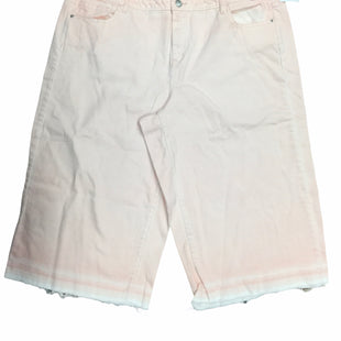 Primary Photo - BRAND: LANE BRYANT STYLE: CAPRIS COLOR: PINK SIZE: 24 SKU: 155-155130-212941