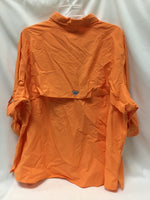Photo #1 - BRAND: COLUMBIA <BR>STYLE: ATHLETIC TOP <BR>COLOR: ORANGE <BR>SIZE: 3X <BR>SKU: 155-155215-3439