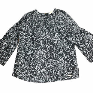 Primary Photo - BRAND: MICHAEL BY MICHAEL KORS STYLE: TOP LONG SLEEVE COLOR: BLACK WHITE SIZE: S SKU: 155-155224-10370