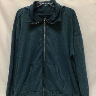 Primary Photo - BRAND: LIVI ACTIVE STYLE: ATHLETIC JACKET COLOR: TEAL SIZE: XL OTHER INFO: SOME WEAR NOTED SKU: 155-155130-213867