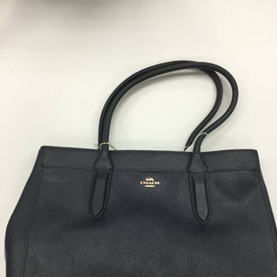 Primary Photo - BRAND: COACH STYLE: HANDBAG COLOR: NAVY SIZE: LARGE SKU: 155-15545-207089