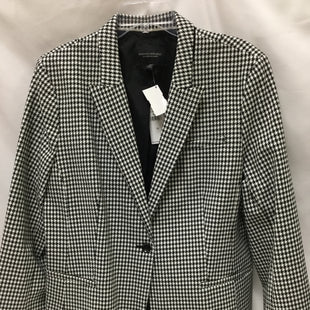 Primary Photo - BRAND: BANANA REPUBLIC STYLE: BLAZER JACKET COLOR: BLACK WHITE SIZE: 1X OTHER INFO: NEW! SKU: 155-155130-210125SIZE 18