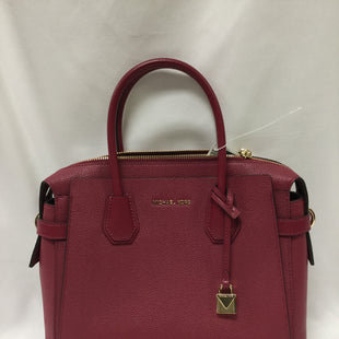 Primary Photo - BRAND: MICHAEL BY MICHAEL KORS STYLE: HANDBAG DESIGNER COLOR: PINK SIZE: LARGE SKU: 155-155201-17512