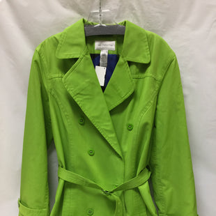 Primary Photo - BRAND: LIZ CLAIBORNE STYLE: COAT SHORT COLOR: LIME GREEN SIZE: L SKU: 155-155201-16164