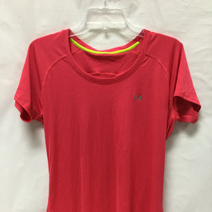 Primary Photo - BRAND: UNDER ARMOUR STYLE: ATHLETIC TOP SHORT SLEEVE COLOR: HOT PINK SIZE: L SKU: 155-155130-204973