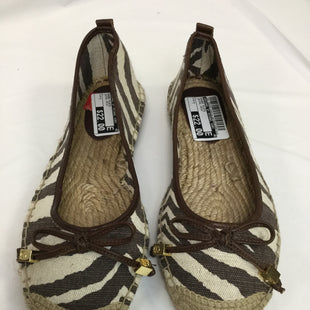 Primary Photo - BRAND: MICHAEL BY MICHAEL KORS STYLE: SHOES FLATS COLOR: ANIMAL PRINT SIZE: 7 SKU: 155-155224-2092BROWN AND IVORY