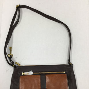 Primary Photo - BRAND: FOSSIL STYLE: HANDBAG LEATHER COLOR: BROWN SIZE: MEDIUM SKU: 155-155227-2096