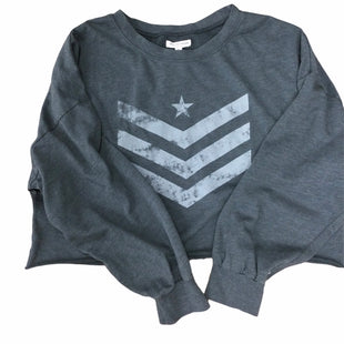 Primary Photo - BRAND: GRAYSON THREADS STYLE: TOP LONG SLEEVE COLOR: GREY SIZE: XL SKU: 155-155130-217528
