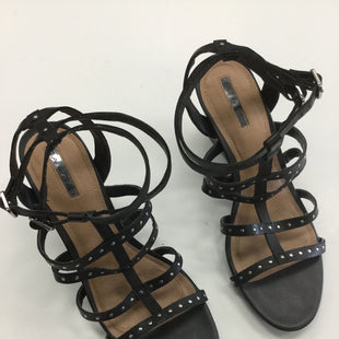 Primary Photo - BRAND: TAHARI STYLE: SANDALS HIGH COLOR: BLACK SIZE: 9 OTHER INFO: NOTED SKU: 155-155130-202841