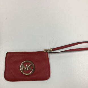 Primary Photo - BRAND: MICHAEL BY MICHAEL KORS STYLE: WRISTLET COLOR: RED SKU: 155-155130-210497