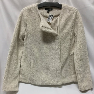Primary Photo - BRAND: BANANA REPUBLIC STYLE: BLAZER JACKET COLOR: CREAM SIZE: S SKU: 155-15599-227342