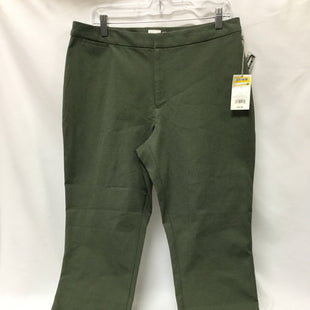 Primary Photo - BRAND: A NEW DAY STYLE: PANTS COLOR: OLIVE SIZE: 14 SKU: 155-155224-18196
