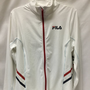 Primary Photo - BRAND: FILA STYLE: ATHLETIC JACKET COLOR: WHITE SIZE: XL SKU: 155-15599-235276