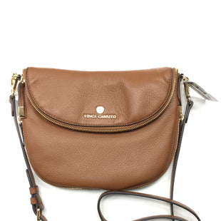 Primary Photo - BRAND: VINCE CAMUTO STYLE: HANDBAG DESIGNER COLOR: BROWN SIZE: SMALL SKU: 155-155185-8330
