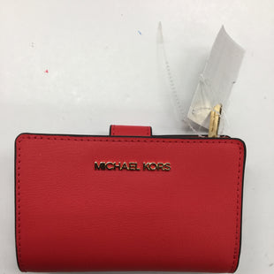 Primary Photo - BRAND: MICHAEL BY MICHAEL KORS STYLE: WALLET COLOR: RED SIZE: SMALL SKU: 155-155130-208840