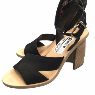 Primary Photo - BRAND: GIANI BERNINI STYLE: SANDALS HIGH COLOR: BLACK SIZE: 9.5 SKU: 155-155220-3777