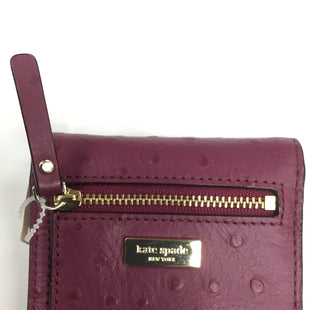 Primary Photo - BRAND: KATE SPADE STYLE: WALLET COLOR: PURPLE SIZE: SMALL SKU: 155-155187-21884