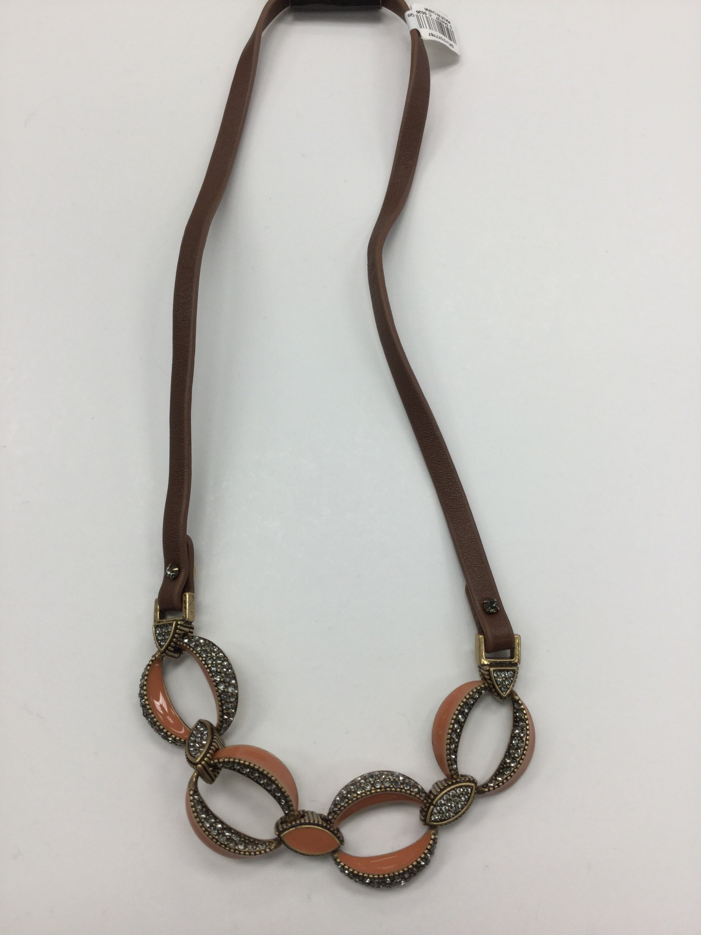 Primary Photo - BRAND: ANN TAYLOR LOFT <BR>STYLE: NECKLACE <BR>COLOR: BROWN <BR>SKU: 155-155130-204116