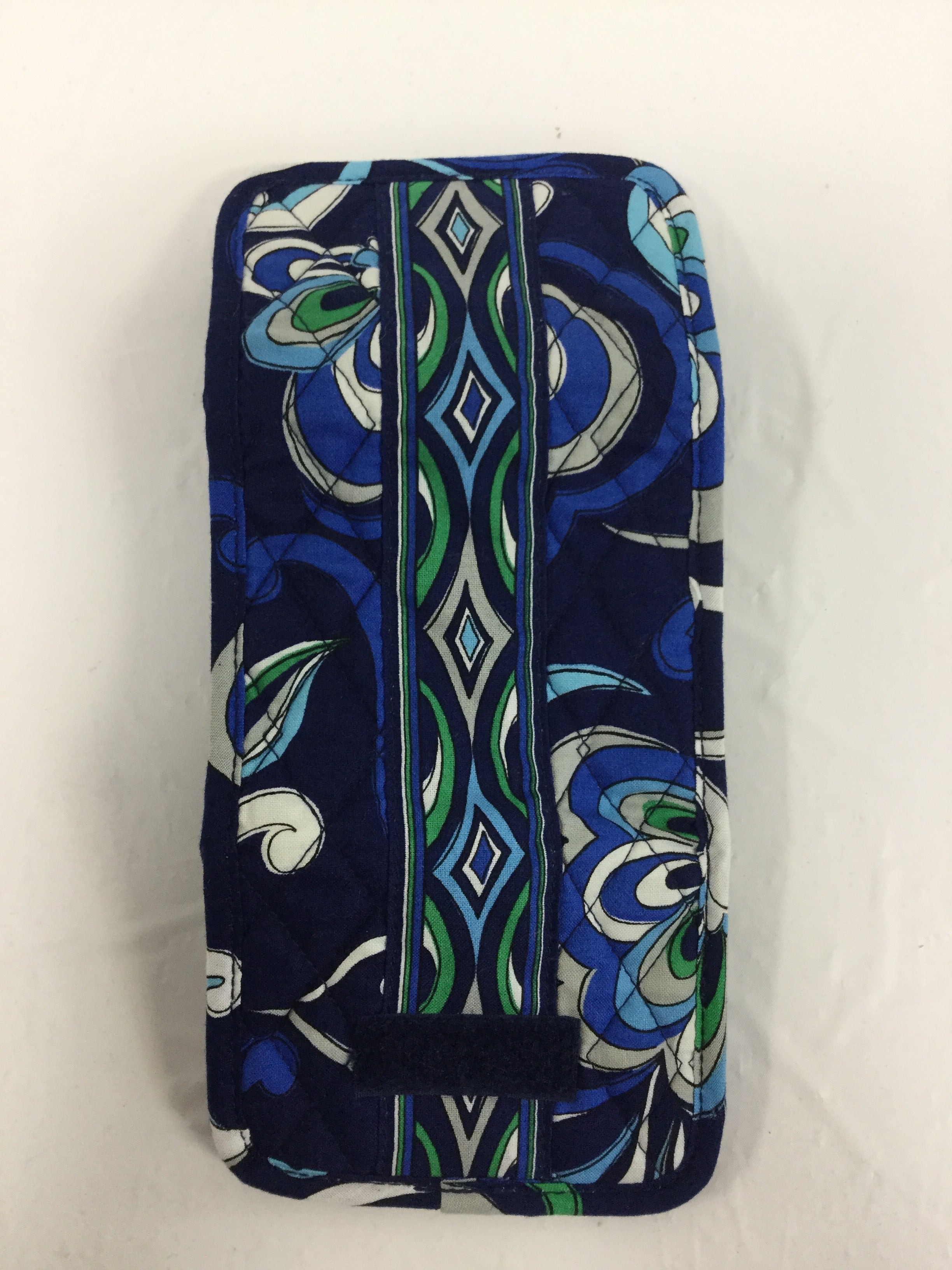 Photo #2 - BRAND: VERA BRADLEY O <BR>STYLE: WALLET <BR>COLOR: BLUE GREEN <BR>SIZE: SMALL <BR>OTHER INFO: NEW! <BR>SKU: 155-155130-203006<BR>POCKET WALLET IN MEDITERRANEAN BLUE