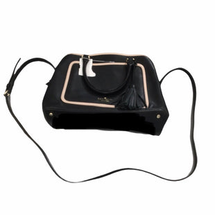 Primary Photo - BRAND: KATE SPADE STYLE: HANDBAG DESIGNER COLOR: BLACK SIZE: MEDIUM SKU: 155-15599-245377