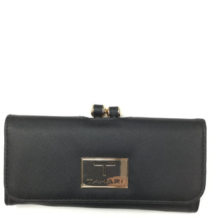 Primary Photo - BRAND: TAHARI BY ARTHUR LEVINE STYLE: WALLET COLOR: BLACK SIZE: MEDIUM SKU: 155-155163-122191
