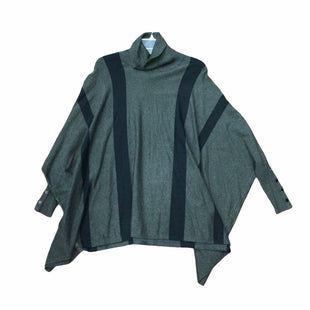 Primary Photo - BRAND: ALFANI STYLE: PONCHO COLOR: GREY SIZE: M SKU: 155-155224-19593