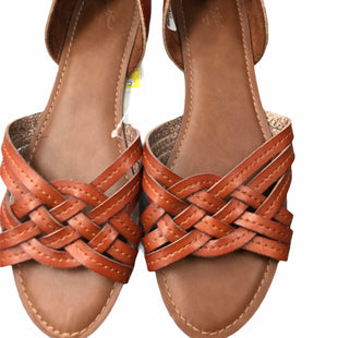 Primary Photo - BRAND: UNIVERSAL THREAD STYLE: SHOES FLATS COLOR: BROWN SIZE: 11 SKU: 155-155228-1568
