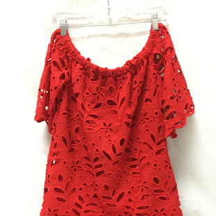 Primary Photo - BRAND: GIANNI BINI STYLE: DRESS SHORT SHORT SLEEVE COLOR: RED SIZE: M SKU: 155-155224-9718