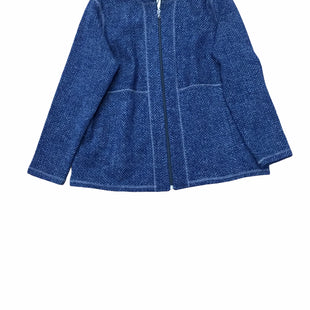 Primary Photo - BRAND: TALBOTS STYLE: FLEECE COLOR: BLUE SIZE: 1X SKU: 155-155215-4697