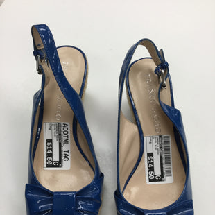 Primary Photo - BRAND: FRANCO SARTO STYLE: SANDALS HIGH COLOR: ROYAL BLUE SIZE: 6 SKU: 155-155130-206773