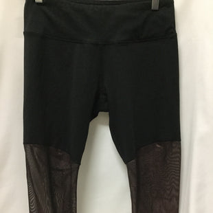 Primary Photo - BRAND: 90 DEGREES BY REFLEX STYLE: ATHLETIC CAPRIS COLOR: BLACK SIZE: L SKU: 155-155220-5356