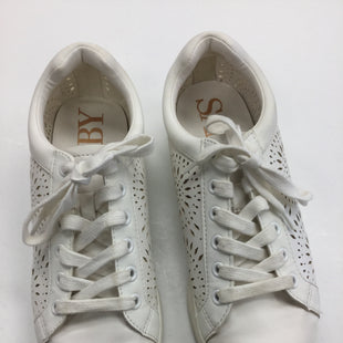 Primary Photo - BRAND: SAM AND LIBBY STYLE: SHOES ATHLETIC COLOR: CREAM SIZE: 6.5 SKU: 155-155201-14433