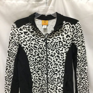 Primary Photo - BRAND: RUBY RD STYLE: ATHLETIC JACKET COLOR: BLACK WHITE SIZE: PETITE  MEDIUM SKU: 155-155224-6749