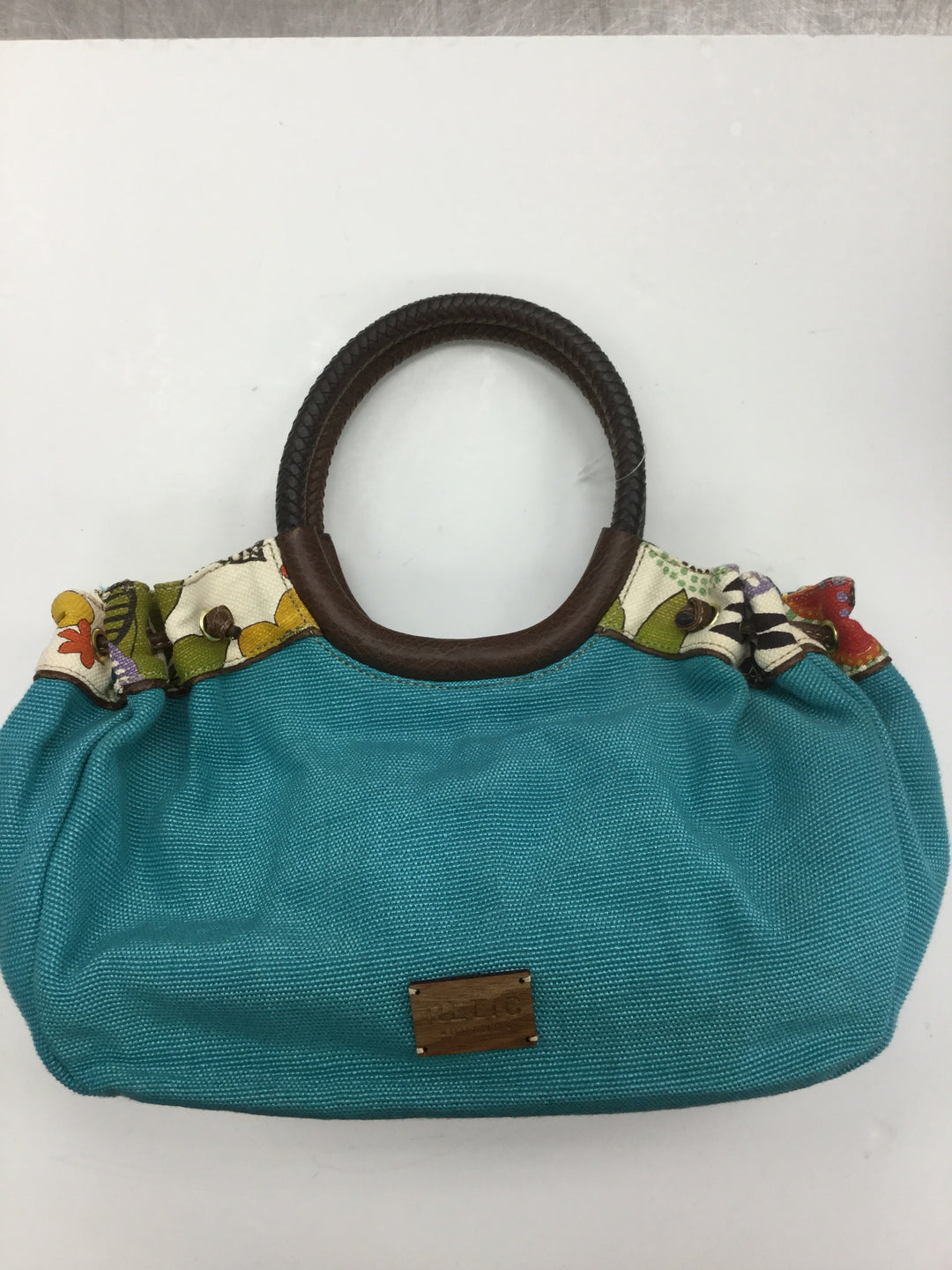 Primary Photo - BRAND: RELIC <BR>STYLE: HANDBAG <BR>COLOR: TURQUOISE <BR>SIZE: LARGE <BR>SKU: 155-155224-9164