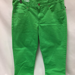 Primary Photo - BRAND: GAP STYLE: PANTS COLOR: GREEN SIZE: 10 SKU: 155-155201-13801