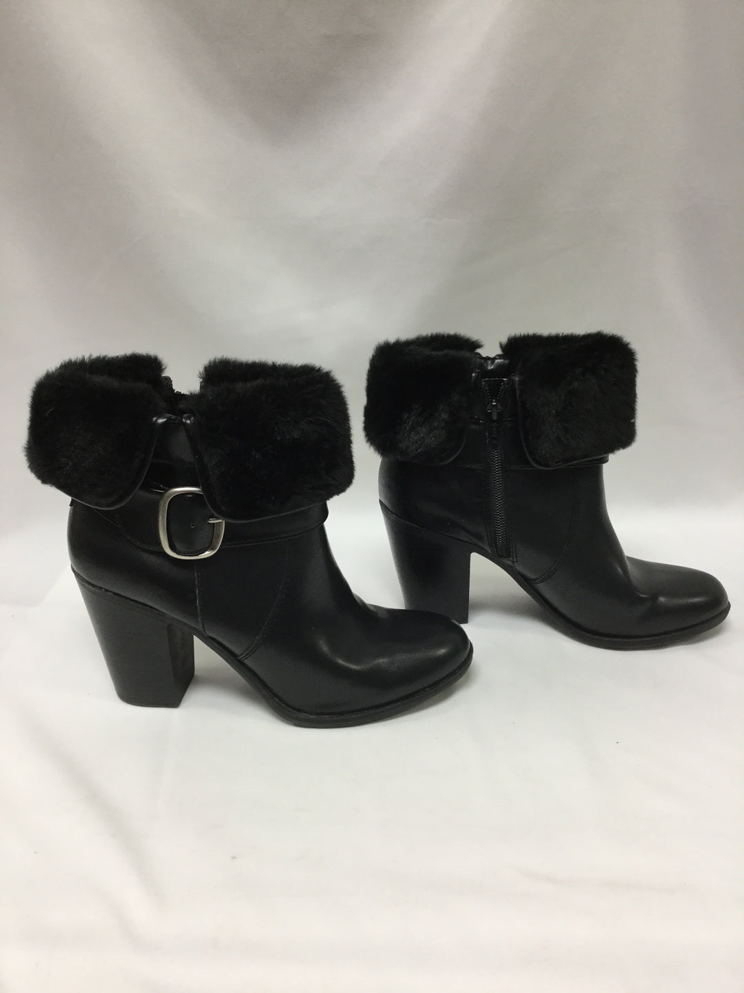 Photo #2 - BRAND: CROFT AND BARROW <BR>STYLE: BOOTS ANKLE <BR>COLOR: BLACK <BR>SIZE: 9.5 <BR>SKU: 155-155201-16512