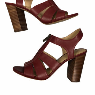 Primary Photo - BRAND: MICHAEL BY MICHAEL KORS STYLE: SANDALS HIGH COLOR: RED SIZE: 8 SKU: 155-155224-20859