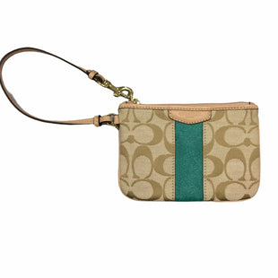 Primary Photo - BRAND: COACH STYLE: WRISTLET COLOR: TAN SKU: 155-155233-1547