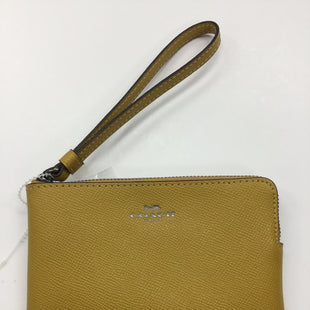 Primary Photo - BRAND: COACH STYLE: WRISTLET COLOR: YELLOW SKU: 155-155215-2838