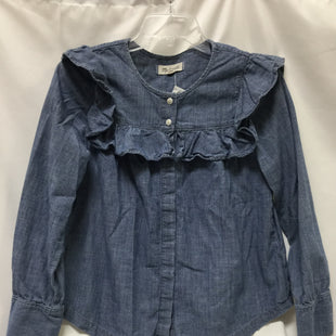 Primary Photo - BRAND: MADEWELL STYLE: BLOUSE COLOR: DENIM SIZE: XS SKU: 155-15599-227479