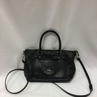 Primary Photo - BRAND: COACH STYLE: HANDBAG DESIGNER COLOR: BLACK SIZE: MEDIUM SKU: 155-155187-24206