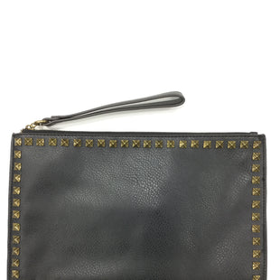 Primary Photo - BRAND: EXPRESS STYLE: CLUTCH COLOR: BLACK SKU: 155-15545-193145BLACK AND GOLD