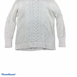 Primary Photo - BRAND: GAP STYLE: SWEATER HEAVYWEIGHT COLOR: IVORY SIZE: S SKU: 155-155224-21919